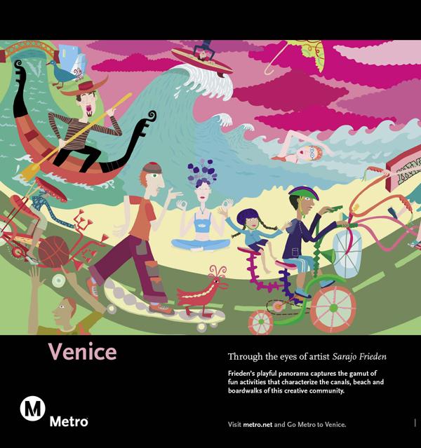 Venice Railcard Poster