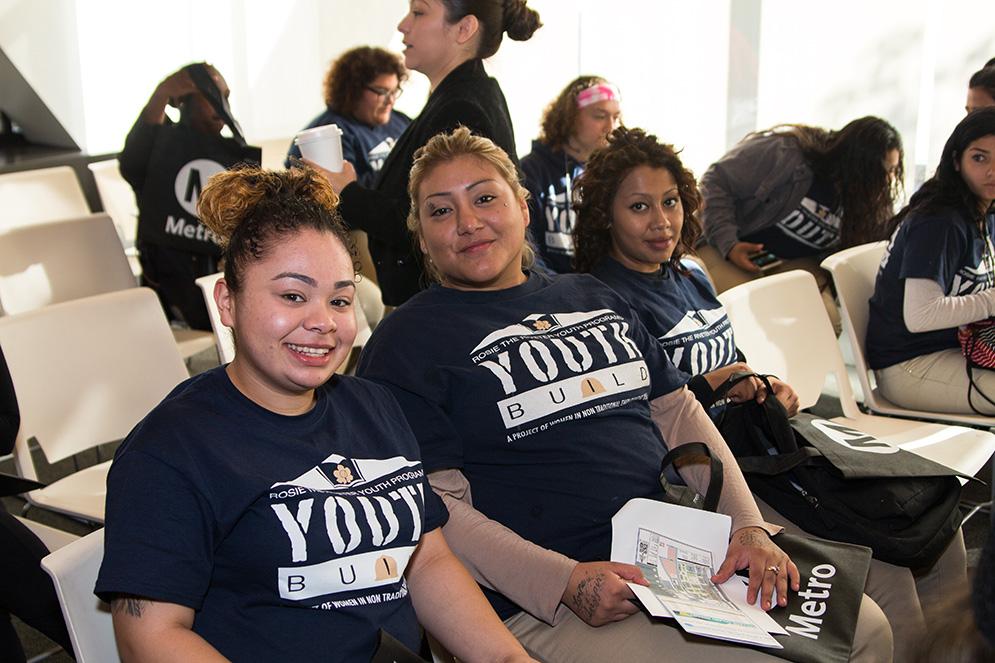 WBMLA Orientation - Group of three women