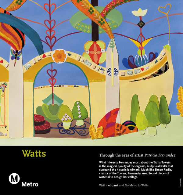 Watts Railcard Poster