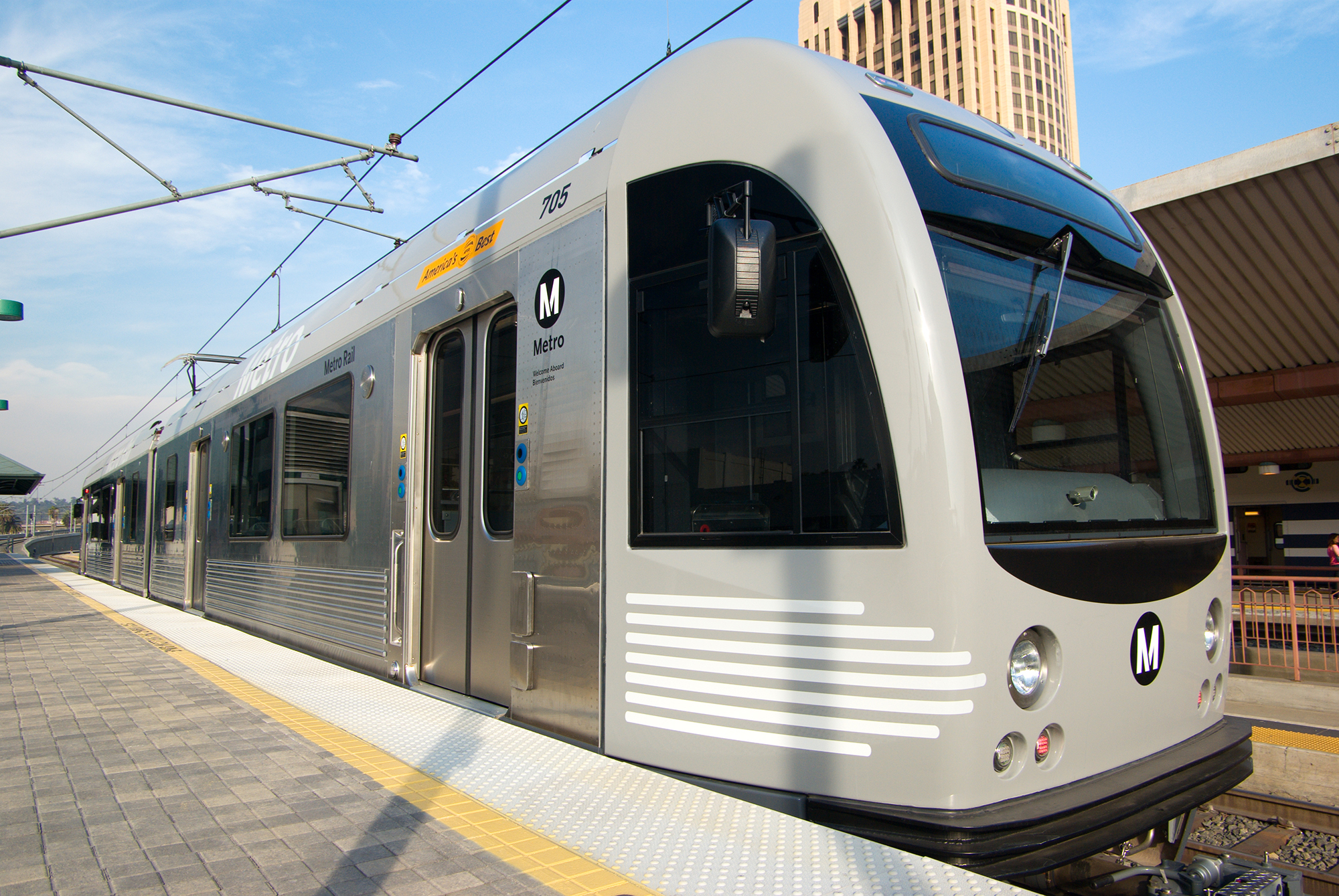 Train car for Metro Gold Line Eastside Extension