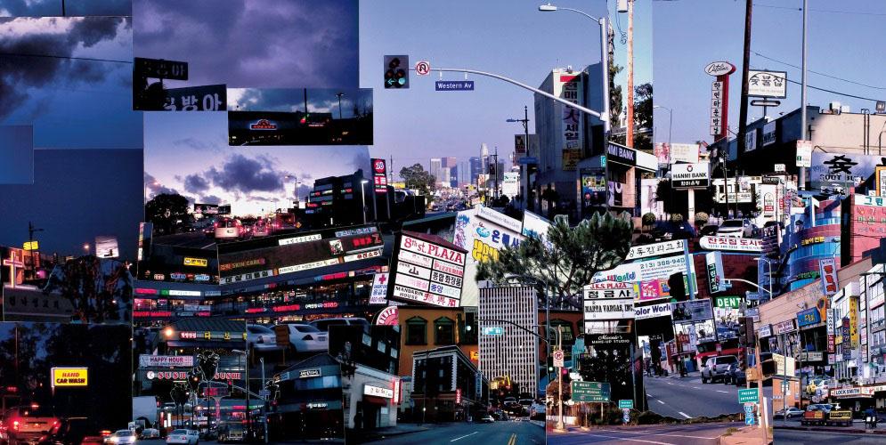 Korea Town Buscard Poster