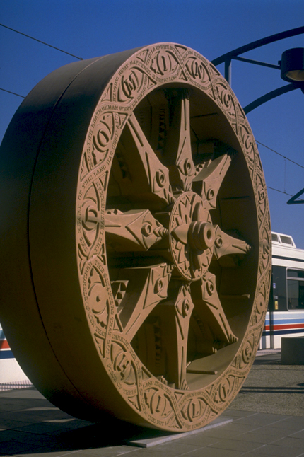 <p>Del Amo Wheel, 1999 Colin Gray, artist</p>