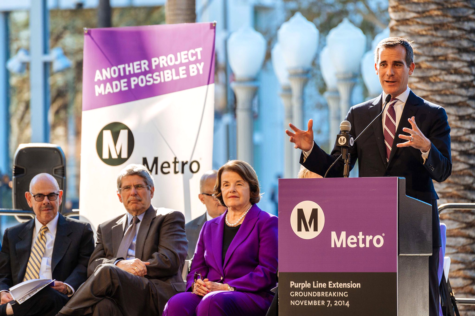 Purple Line Extension Section 1 Groundbreaking (Nov 2017)