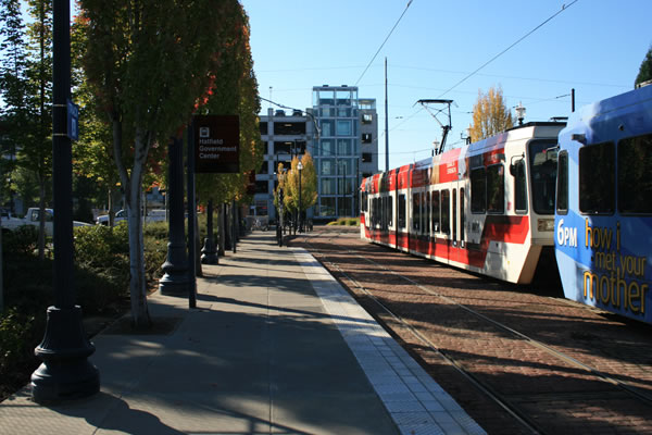 <p>MAX Blue Line Terminus - Hatfield Government Center&nbsp;(Portland, Oregon)</p>