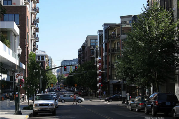 <p>Streets of Pearl District&nbsp;(Portland, Oregon)</p>