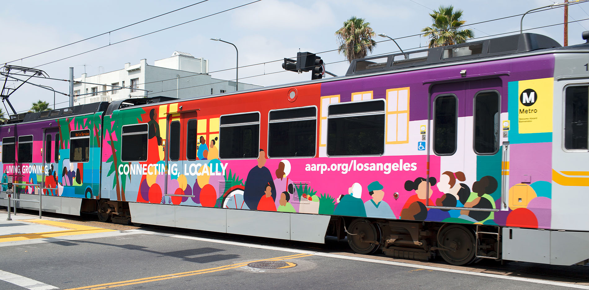 Advertising types - train wrap