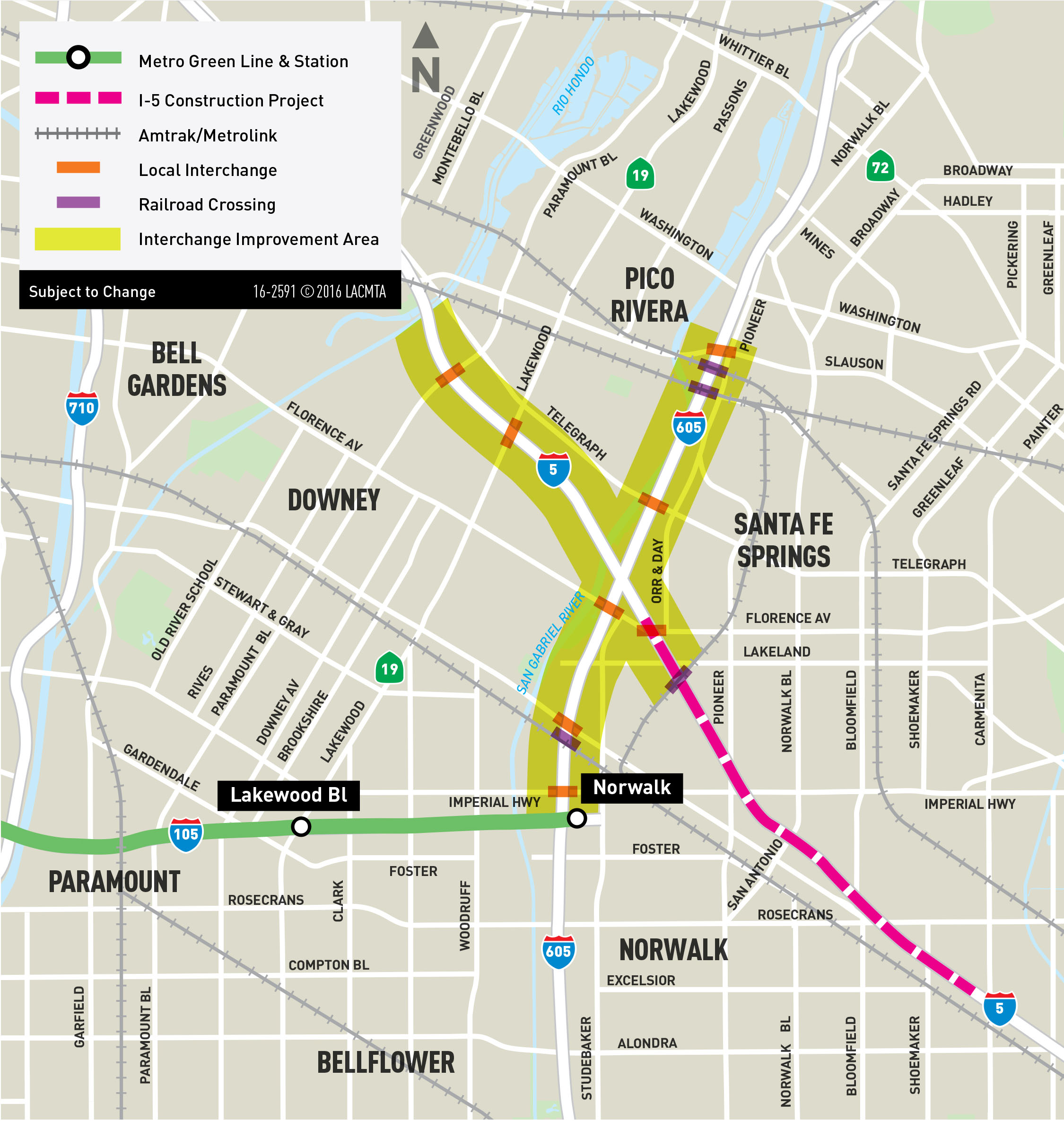 I-605/I-5 Interchange Improvement Project