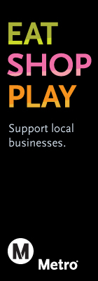 Eat, Shop, Play. Support local businesses.
