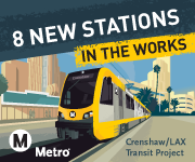 More Connections in the works. Crenshaw/LAX Transit Project.