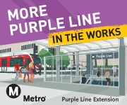 More Connections in the works. Purple Line Extension.
