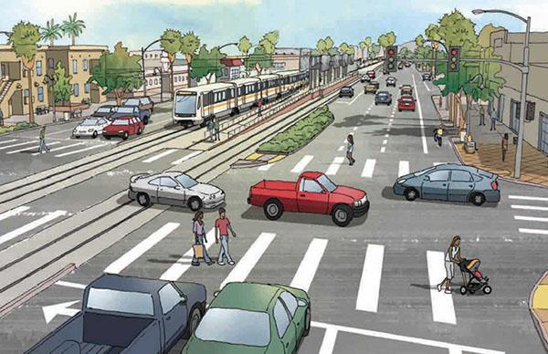 Credit: Crenshaw Boulevard Streetscape Plan