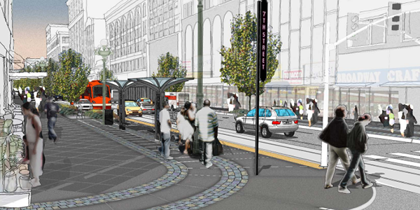 Broadway Streetscape Master Plan; City of Los Angeles