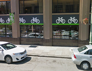Oakland Bike Hub; Google Maps