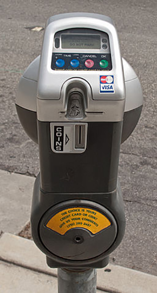 LA Parking Meter; Downtowngal