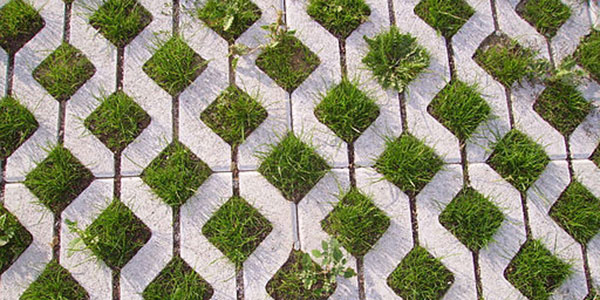 Grasscrete can be used for parking areas in Los Angeles;  Immanuel Giel