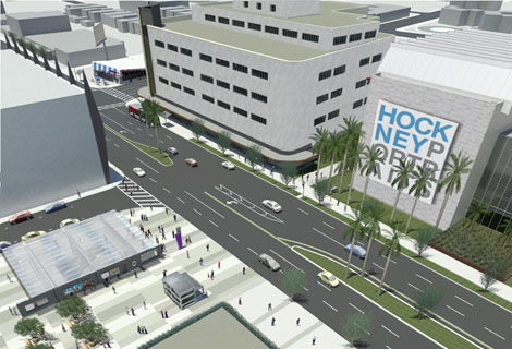 Wilshire/Fairfax Station rendering
