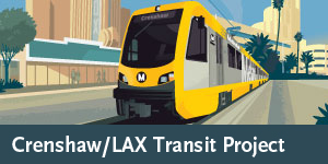 Crenshaw/LAX Transit Project