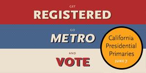 Go Metro to Vote
