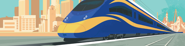 Banner: High Speed Rail