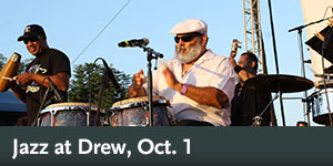Jazz at Drew, Oct. 1