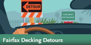 Purple Line Extension - Fairfax Decking Detours