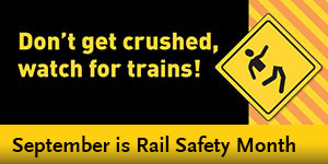 Rail Safety Month