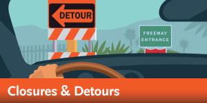 Regional Connector - Street Closures & Detours