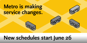 Service Changes (Now in Effect)