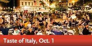 Taste of Italy, Oct. 1