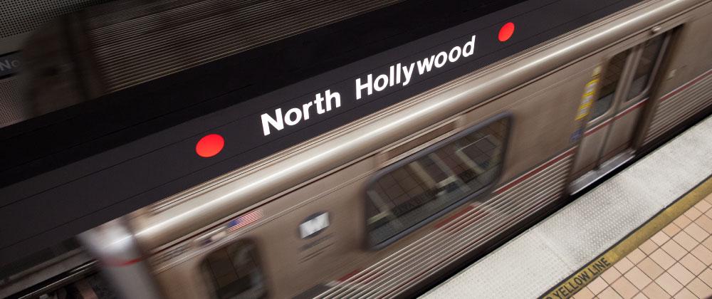 Metro red line METRORAIL RED