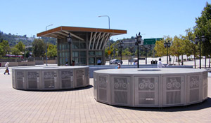 Metro Bike Lockers